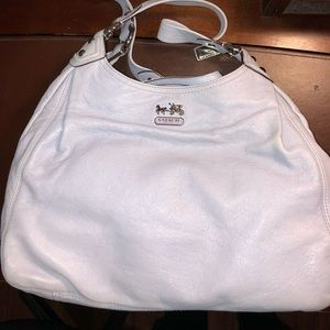 Coach powder blue Hobo bag